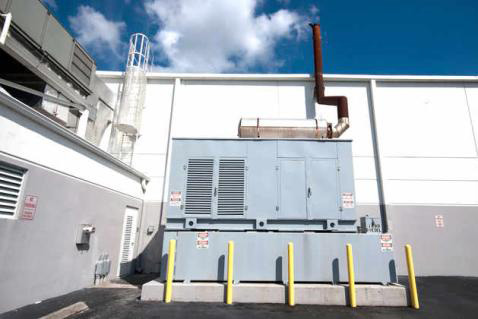 Commercial Electric Backup Generator